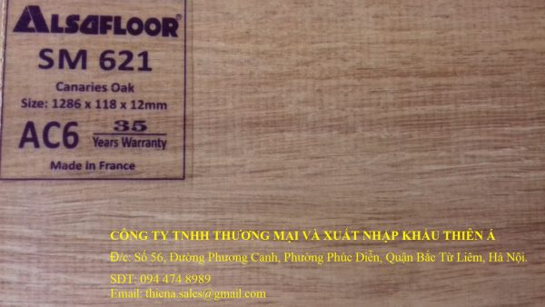 sàn gỗ alsa nhập khẩu từ pháp