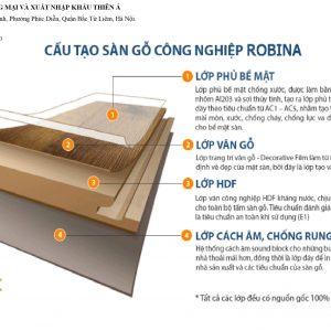 sàn gỗ robina chống nước